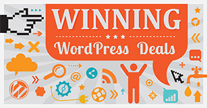 Winning WordPress Deals and Coupons